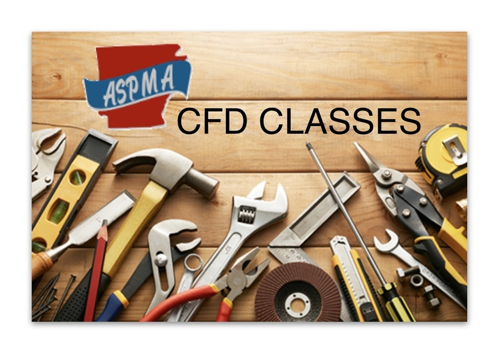 ASPMA Spring CFD Classes
