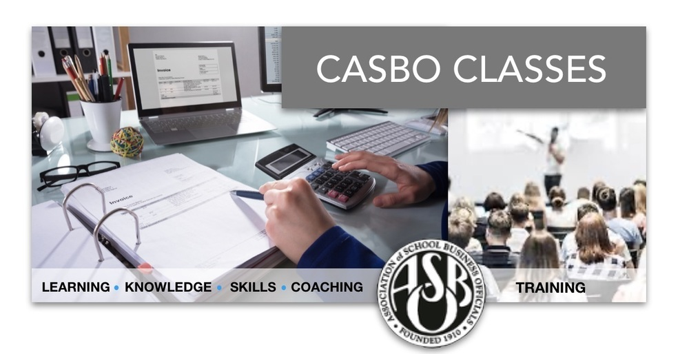 CASBO Digital Fall Certification Classes