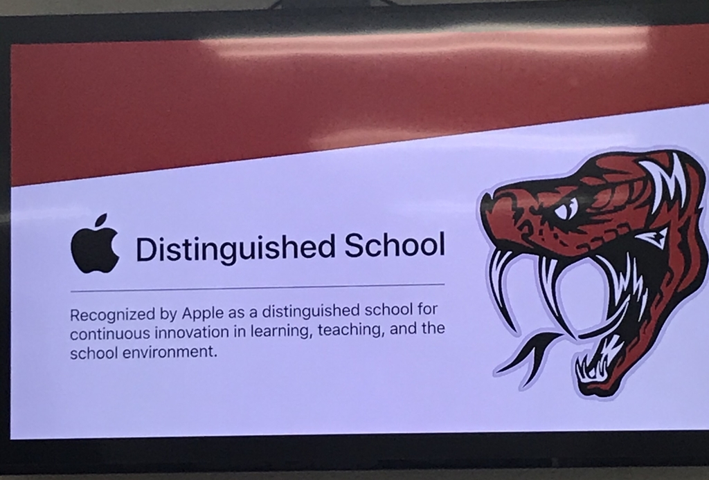 SPC - Apple Distinguished Schools!