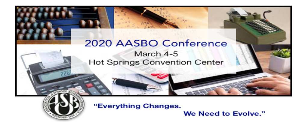 AASBO Conference Graphic